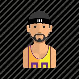 avatar, man, sport, stock, user icon