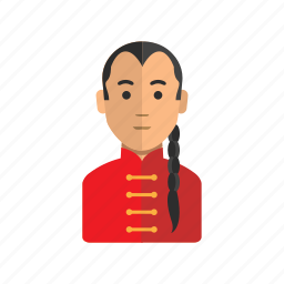 avatar, china, kungfu, man, user icon