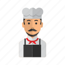 avatar, beverage, chef, food, kitchen icon