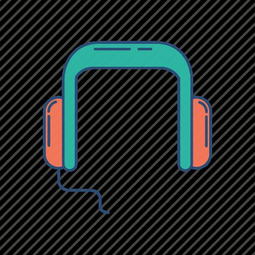 hangout, headphone, headset, music icon