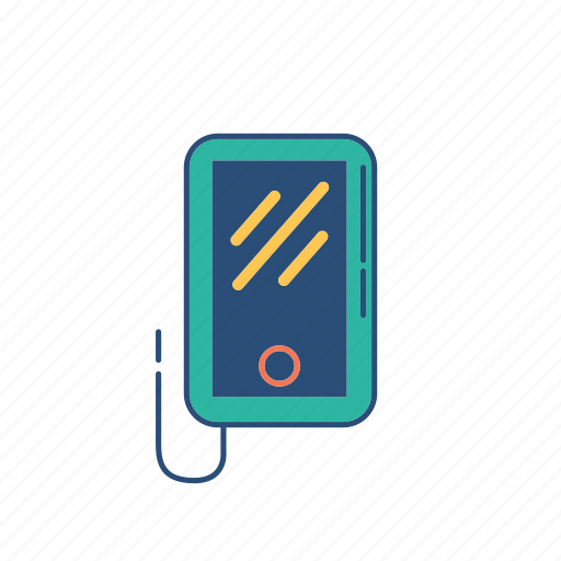 hangout, phone, tablet icon