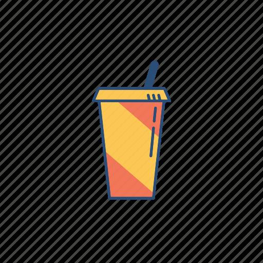 drinks, glass, hangout, soda icon