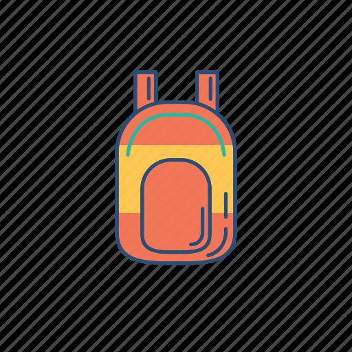 bag, hangout, ransel, storage icon