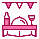 drink, festival, food, holiday, party icon