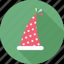 avatar, birthday, birthday hat, cake, emoticon, happy, person icon