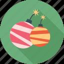 birthday, christmas, decoration, firework, gift, happy, party icon