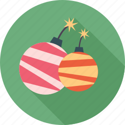 birthday, christmas, decoration, firework, gift, happy, party icon
