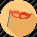 birthday, emoticon, emotion, expression, happy, mask, sad icon
