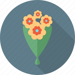 birthday, celebration, emoticon, flower, happy, party, plant icon