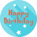 birthday, day, emoji, face, happy, party, smiley icon