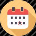birthday, calendar, cartoon, celebration, event, happy, smiley icon
