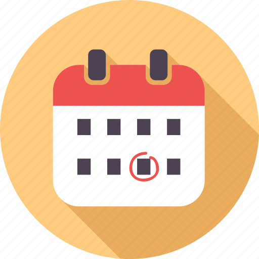 birthday, calendar, cartoon, celebration, event, happy, smiley icon