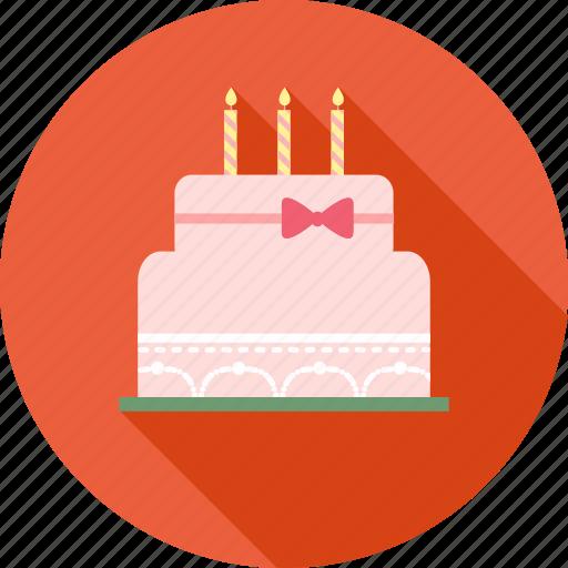 birthday, birthday cake, gift, happy, party, smiley icon