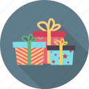 birthday, cartoon, expression, gift box, happy, party, smiley icon