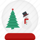 ball, decorate, snowman icon