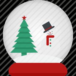 ball, decorate, snowman icon