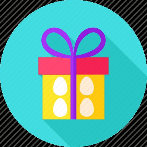 box, celebration, easter, egg, gift, holiday, present icon