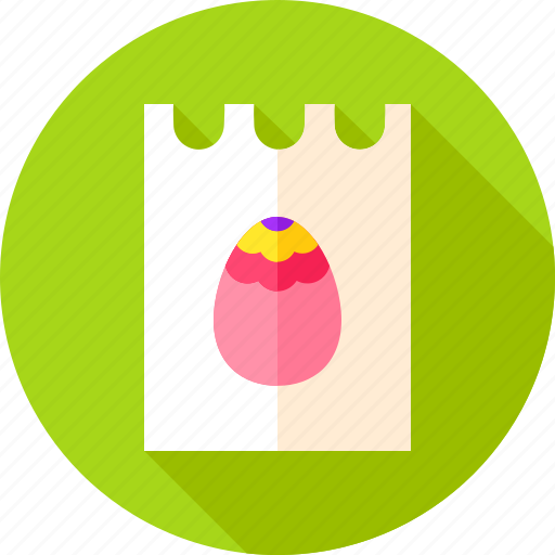celebration, easter, egg, holiday, invitation, paper, spring icon