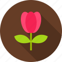 floral, flower, nature, season, seasonal, spring, tulip icon