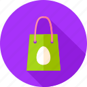 bag, easter, egg, holiday, package, seasonal, shopping icon