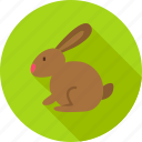 animal, bunny, domestic, easter, farm, nature, rabbit icon