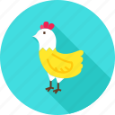 animal, bird, chicken, farm, hen, nature icon