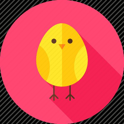 animal, bird, chick, chicken, egg, farm, hen icon