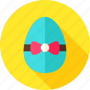 bow-knot, easter, easter egg, egg, greeting, holiday, seasonal icon