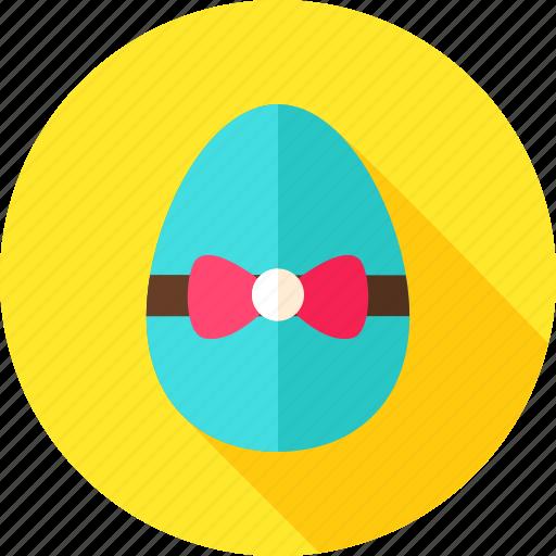 bow-knot, easter, easter egg, egg, greeting, holiday, seasonal icon
