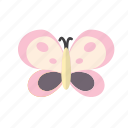bug, butterfly, easter, happy icon