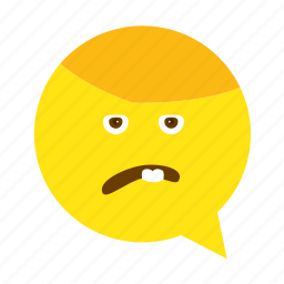 annoyed, emoji, face, sad, sick, smiley icon