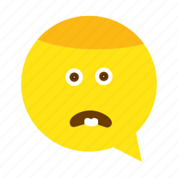 emoji, face, sad, smiley icon