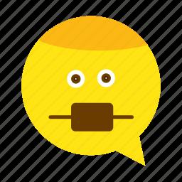 clean, emoji, face, health, medical, safe, smiley icon