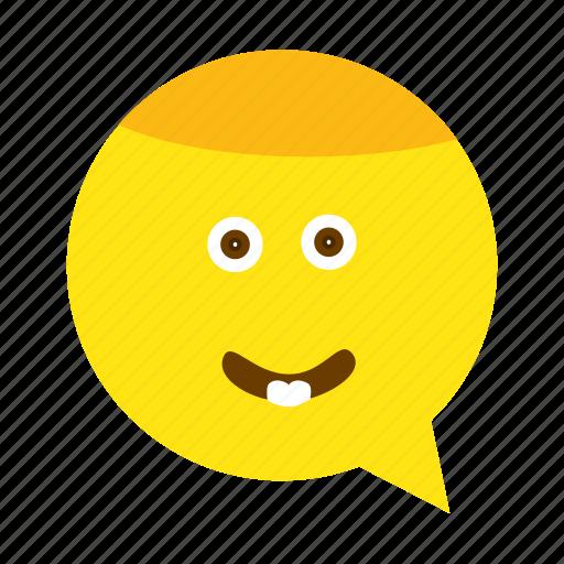 emoji, face, small, smile, smiley icon