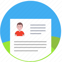 biography, complete, fill out, form, questionary, resume, visa icon