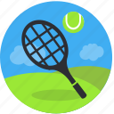 activity, court, game, play, racket, recreation, sport, tennis icon