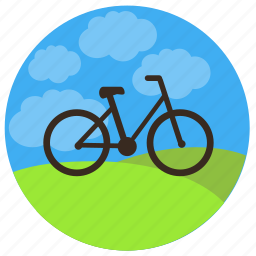 bicycle, bike, cycle, development, launch, testing, travel icon