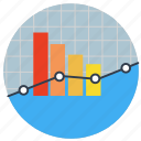 chart, comparison, complex, earnings, finance, indicators, management, market, monitoring, performance, progress, report, reporting, research, results, rising, sales, stock, stocks, summary, trading, trend icon