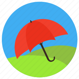 constancy, force majeure, insurance, life, protection, safe, secure, stability, umbrella, weather icon