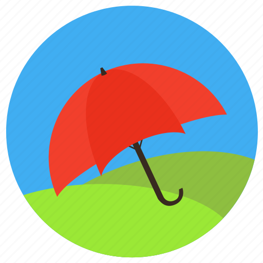 force majeure, insurance, life, protection, safe, secure, umbrella, weather icon