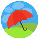 insurance, life, protection, safety, secure, umbrella, weather icon