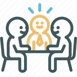 conference, convention, discussion, group, human, meeting, resource icon