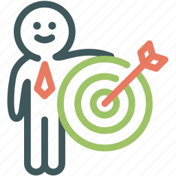 arrow, human, resource, shooting, target, targeted, targeting icon