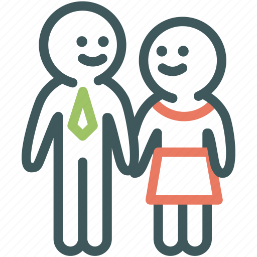 couple, human, love, lover, relationship, resource icon