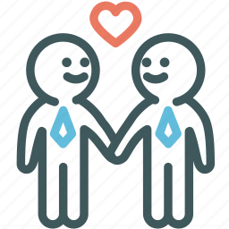 bisexual, gay, homo, human, male love, relationship, resource icon