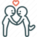 human, lover, puppy love, relationship, resource, romantic, valentine icon
