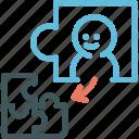 perfect, resource, puzzle, jigsaw, human, business partner, partner