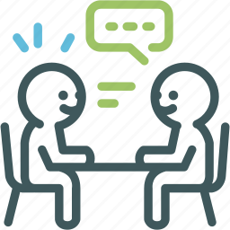 chating, communication, conversation, discussion, human, meeting, resource icon