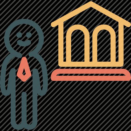 Bank, banker, business man, finance, human, investor, resource icon - Download on Iconfinder