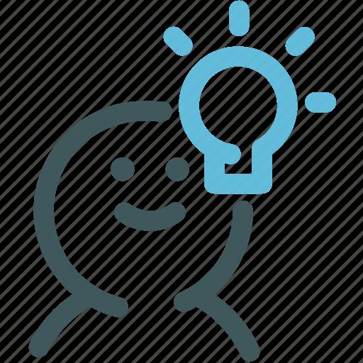 creative idea, creative process, human, idea, ideas, intelligence, resource icon